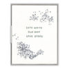 Love Story Letterpress Greeting Card